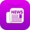 96x96px size png icon of newsletter