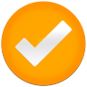 96x96px size png icon of Clear Tick