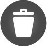 96x96px size png icon of Trash 2