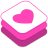 96x96px size png icon of Weheartit