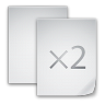 96x96px size png icon of files copy file