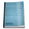 96x96px size png icon of misc notepad