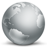 96x96px size png icon of network globe disconnected