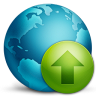 96x96px size png icon of network upload