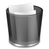 96x96px size png icon of start menu recycle bin full