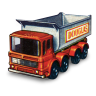 96x96px size png icon of 8 Wheel Tipper