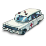 96x96px size png icon of Cadillac Ambulance