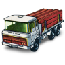 96x96px size png icon of DAF Girder Truck
