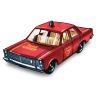 96x96px size png icon of Fire Chief Car