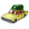 96x96px size png icon of Ford Corsair with Boat