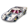96x96px size png icon of Ford GT