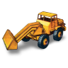 96x96px size png icon of Hatra Tractor Shovel