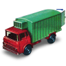 96x96px size png icon of Refrigeration Truck with Open Door
