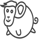 Animal monkey Icon