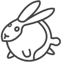 Animal rabbit Icon