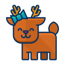 iconfinder__deer_1679536 Icon