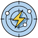 Wind control early warning Icon
