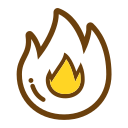 Degree of heat Icon