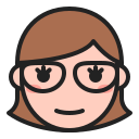 Glasses woman Icon