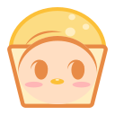 Steamed cake Icon