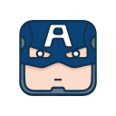 Avengers Alliance - Captain of the United States Icon