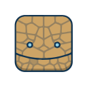 Four heroes of Magic - Stone Man Icon