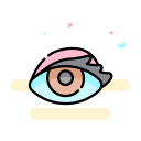 Colored contacts Icon