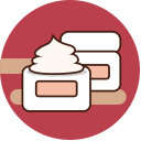 Cosmetic -13- cream Icon