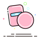 Powder puff Icon