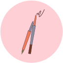 Eyebrow pencil Icon