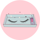 False eyelashes Icon