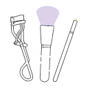 Makeup tools Icon