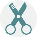 Brow scissors Icon