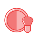 Beauty makeup blush Icon