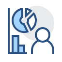 Statistics sent by users Icon