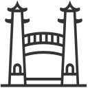 Architecture - Drum Tower - Pavilion Icon