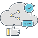 SOCIAL MEDIA CLOUD Icon