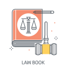 Law books Icon