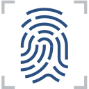 Fingerprint, scan, fingerprint identification Icon