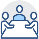 Meeting, meeting, discussion Icon