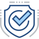 Pass verification, pass safety, confirm, hook, safety protection Icon