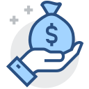 Profit, profit, benefit, make money Icon
