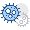 Virus, cell, cancer cell Icon
