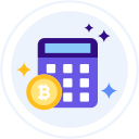 bitcoin-calculator Icon