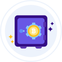 bitcoin-storage Icon