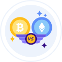 bitcoin-vs-ethereum Icon