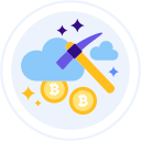 cloud-mining Icon