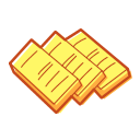 Golden cake Icon