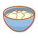 Jellied bean curd Icon