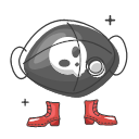 Cool Skull dust mask Icon